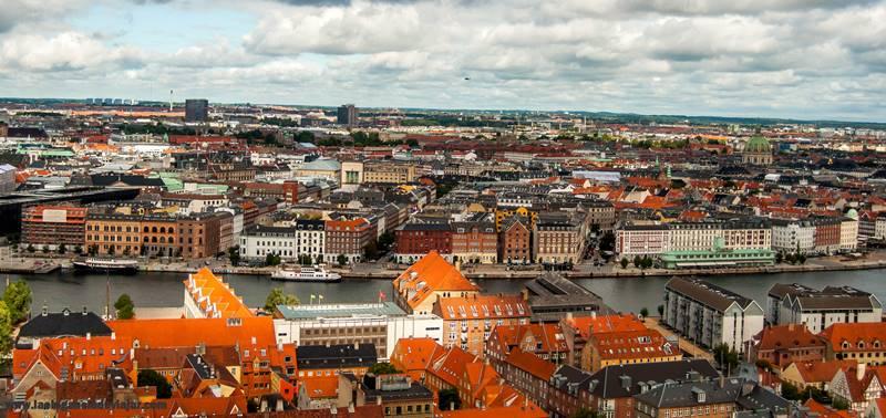 Copenhague desde las alturas