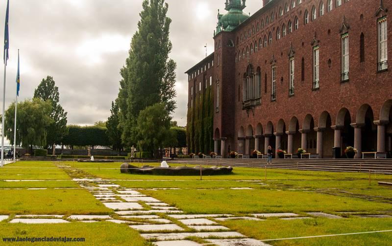 Jardines del Ayuntamiento de Estocolmo