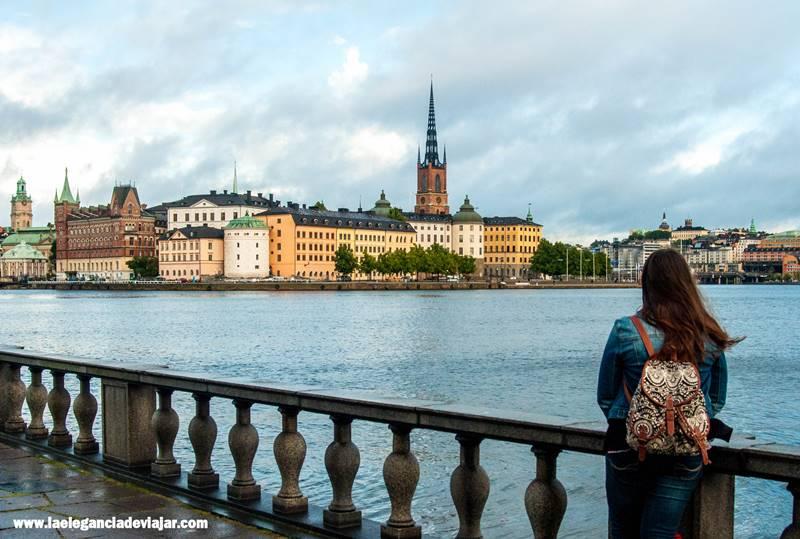 Vistas de Estocolmo desde el Ayuntamiento