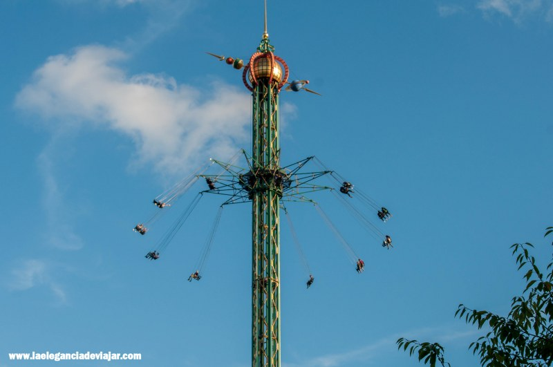Himmelskibet en el Tivoli