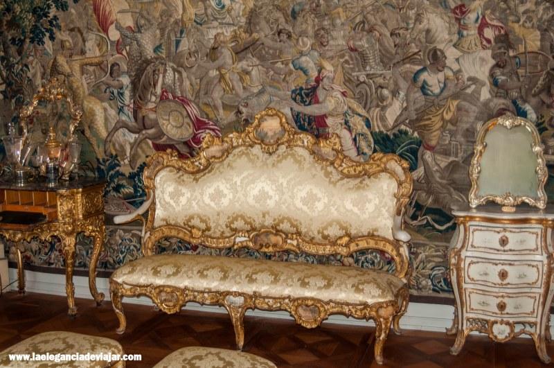 Interiores del palacio de Rosenborg