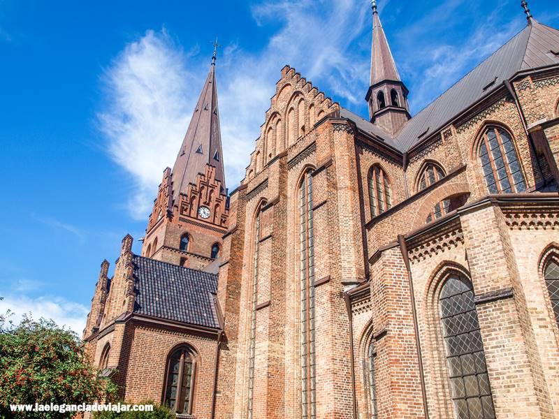 Detalle de la Iglesia de San Pedro de Mälmo