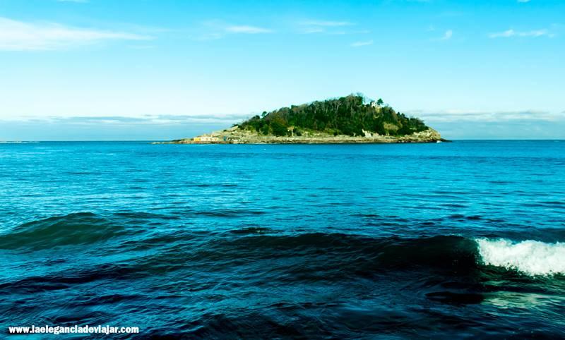 Isla de Santa Clara desde la Concha