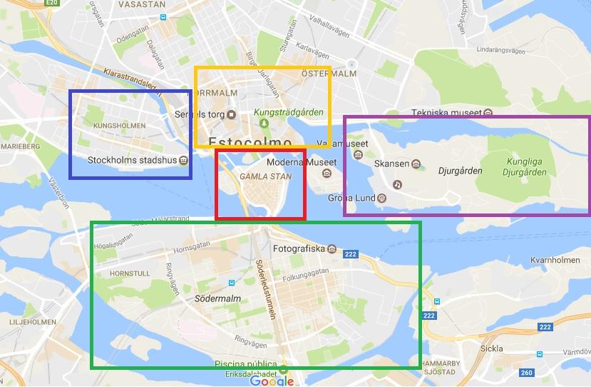 Barrios de Estocolmo