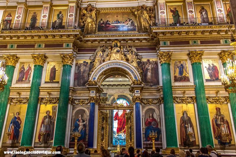 Interior de la Catedral de San Isaac