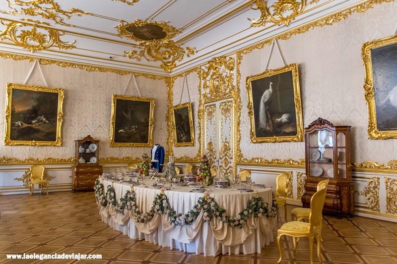 Interiores del Palacio de Catalina