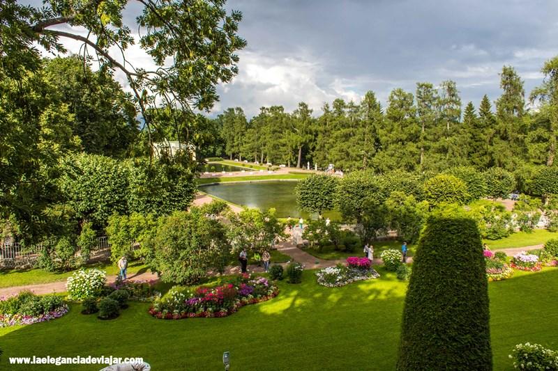 Jardines en el Palacio de Catalina