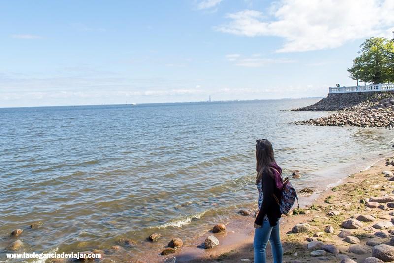 Vistas al Golfo de Finlandia