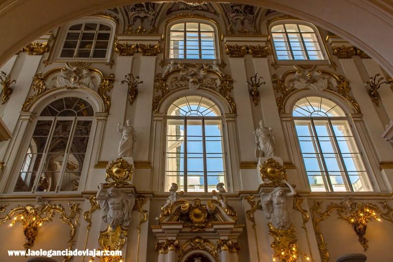 Decoración del hermitage