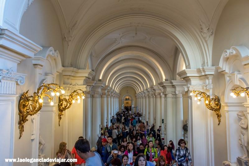 Entrada principal del Hermitage