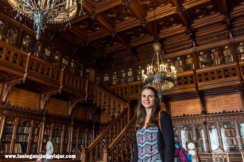 Sala biblioteca en el Hermitage