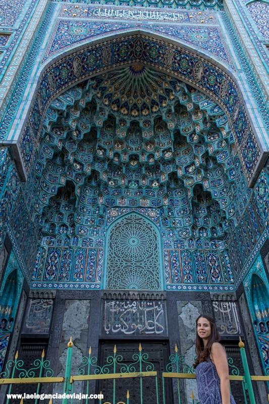 Detalles de la Mezquita de San Petersburgo