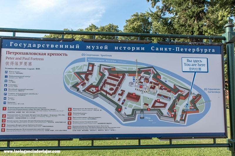 Mapa de la Fortaleza
