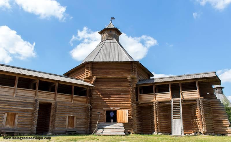 Edificio de madera en Kolomenskoye