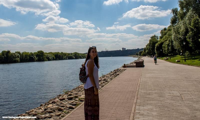 A las orillas del río Moskva