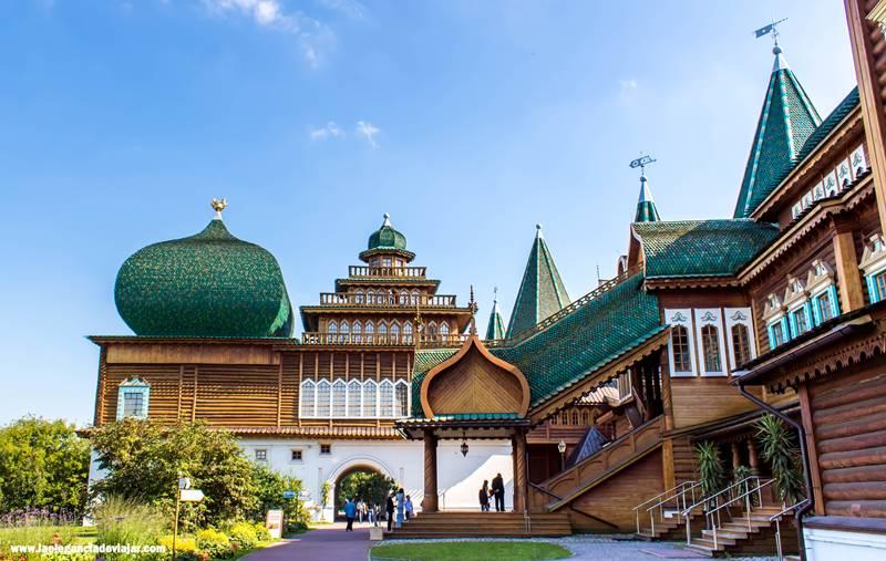 Rincones en el Palacio del Zar Alexey Mikhailovick