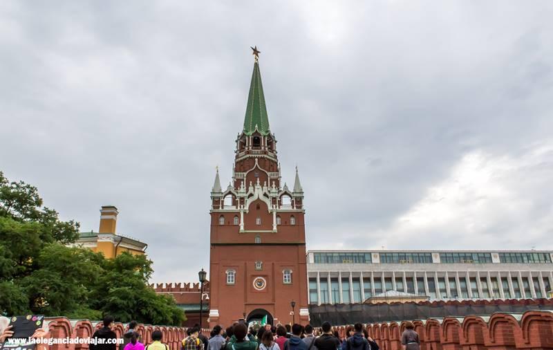 Cómo comprar las entradas del Kremlin