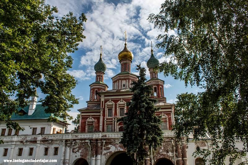 Entrada al Monasterio de Novodévichi