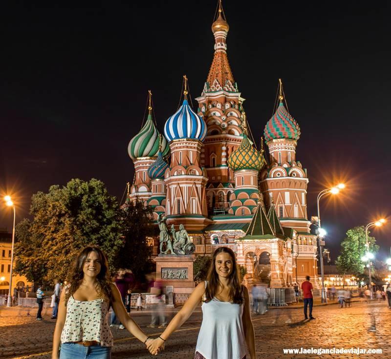 Noche en la Plaza Roja