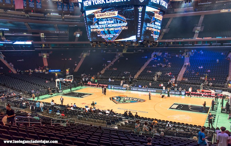 Partido en el Madison Square