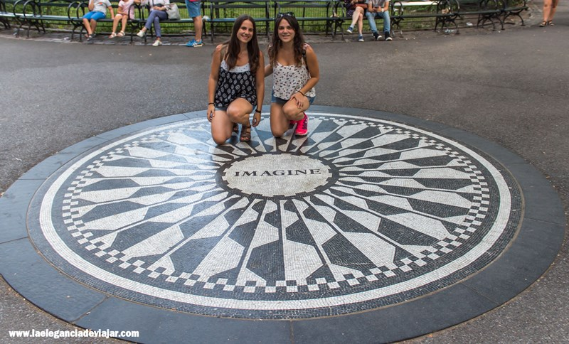 Imagine en Strawberry Fields