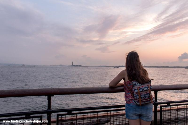 Atardecer en Battery Park