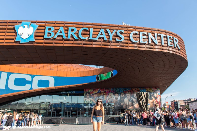 Laura en Barclays Center