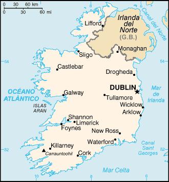 Isla de Irlanda
