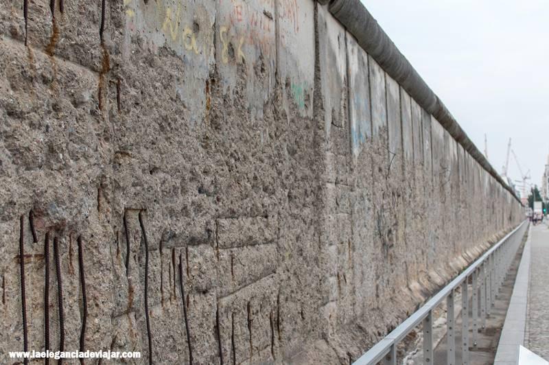 Muro conservado en la Topografía del Terror