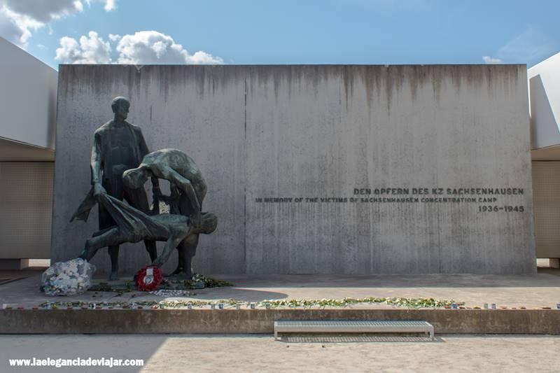 Memorial a las personas asesinadas en Sachsenhausen