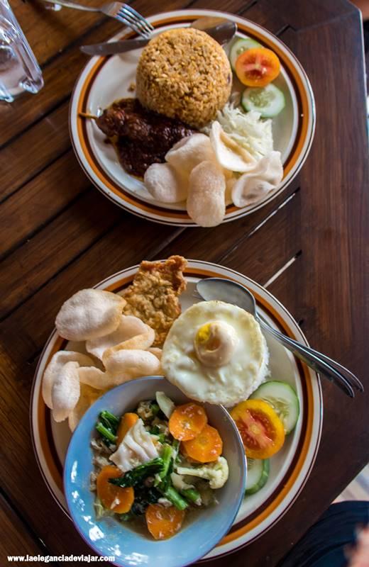 Comida en Indonesia