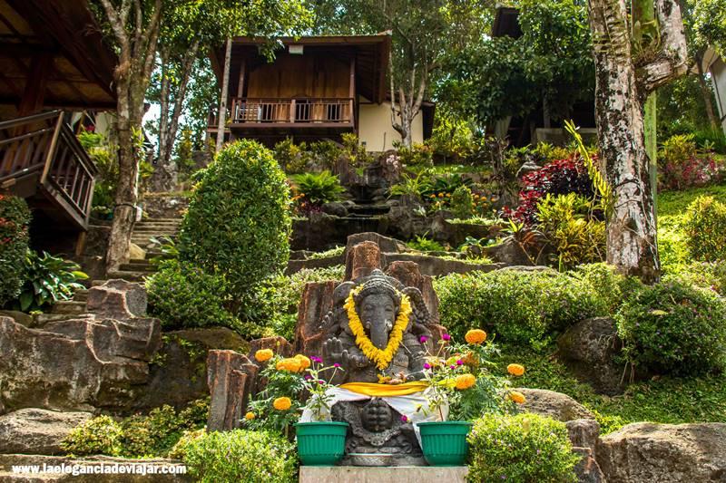 Uno de nuestros alojamientos en Indonesia