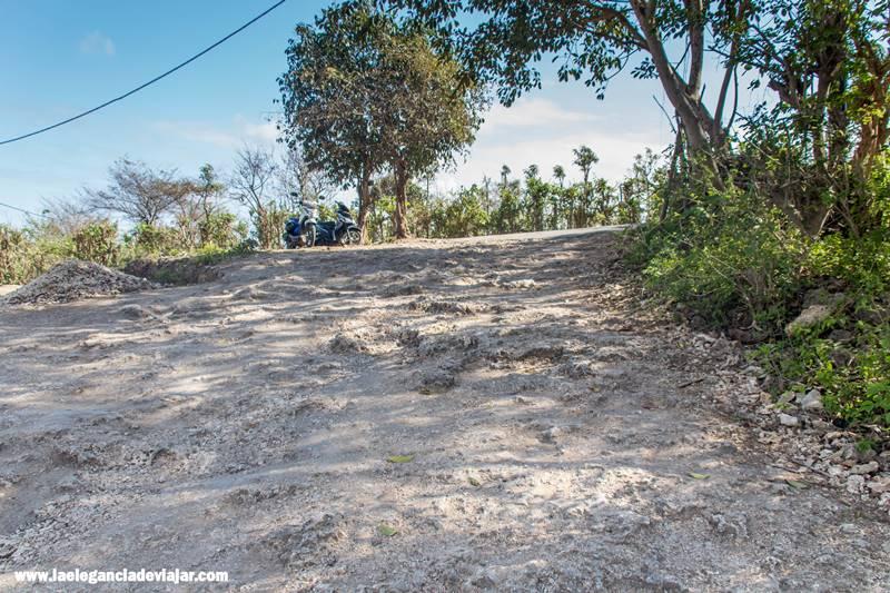 Carreteras en Nusa Penida