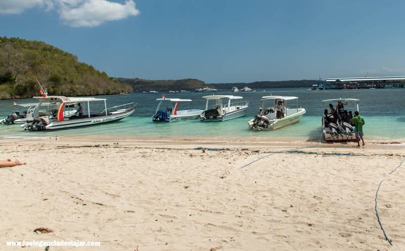 Barcos para ir a Nusa Lembonang