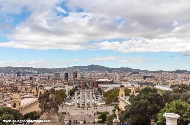Uno de los mejores miradores de Barcelona