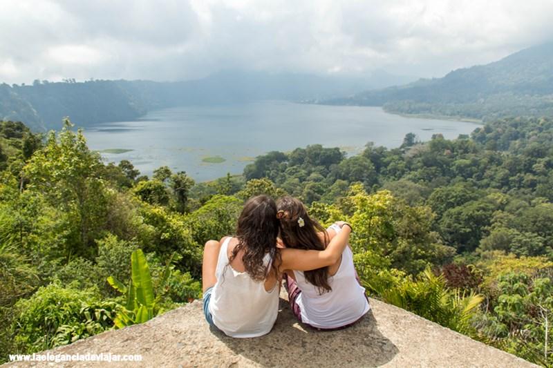 Lagos gemelos en Bali