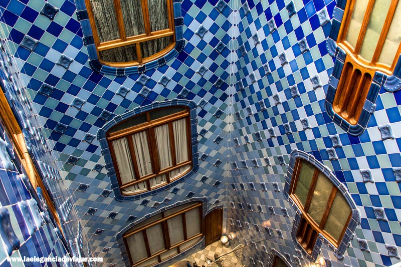 Patio de luces de la casa Batlló