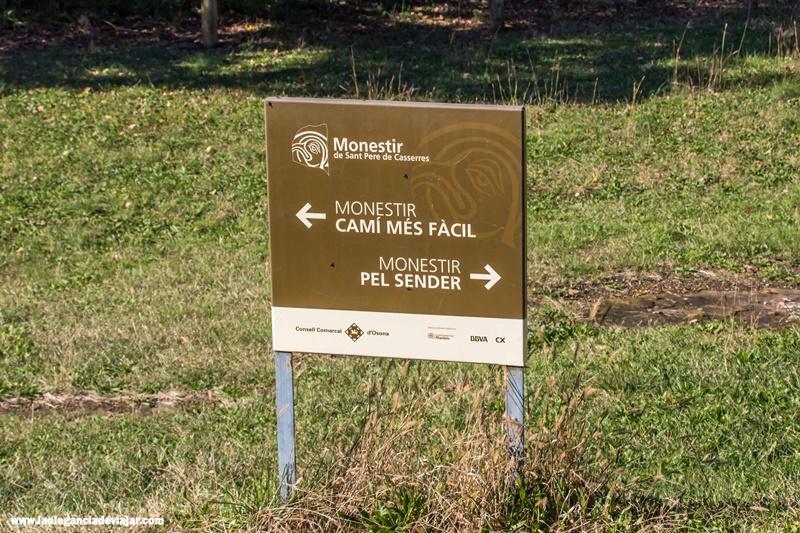"""Coged el camino al monasterio """"Por el sendero"""""""