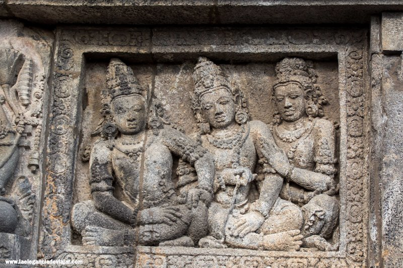 Detalles de Prambanan