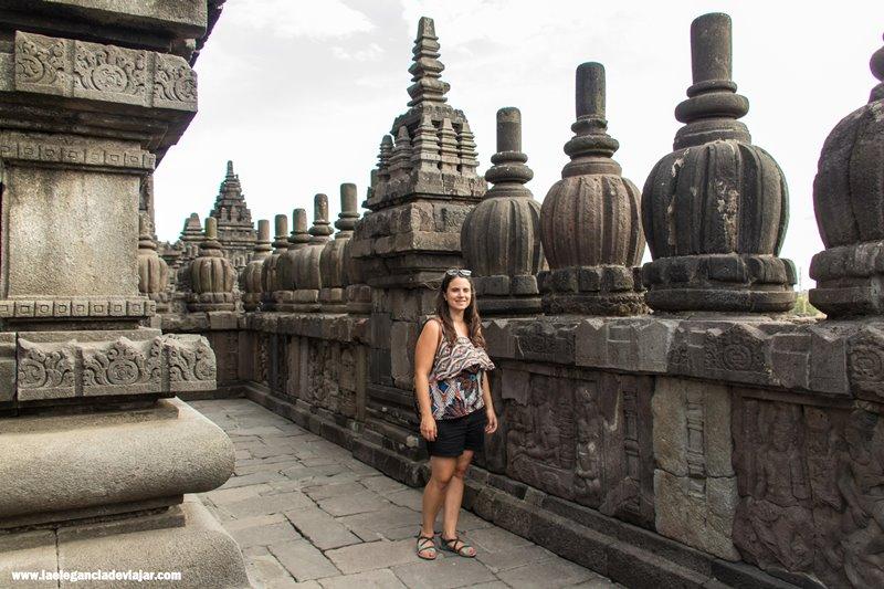 Recorriendo los templos de Prambanan