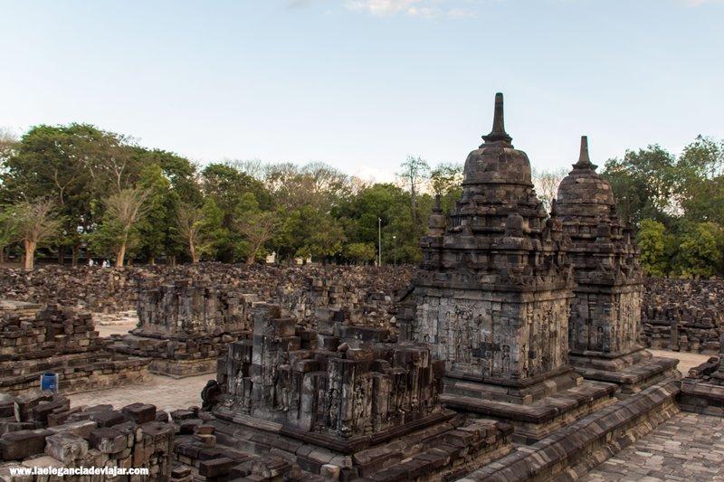 Ruinas en Prambanan