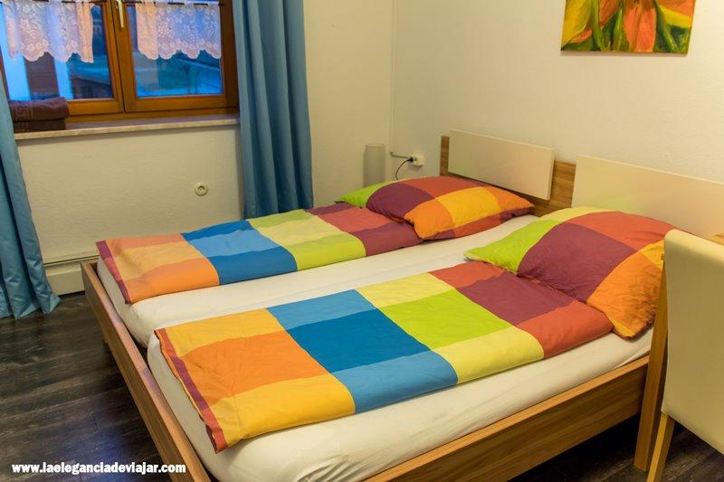 Nuestro alojamiento en Füssen