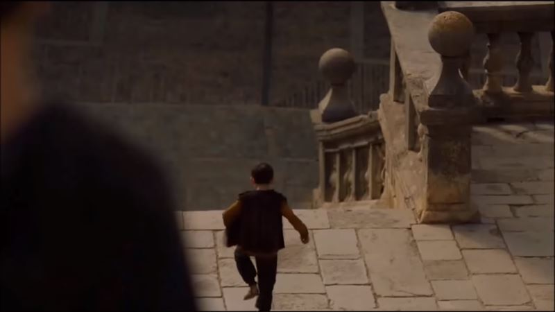 Escaleras del Gran Septo en Girona