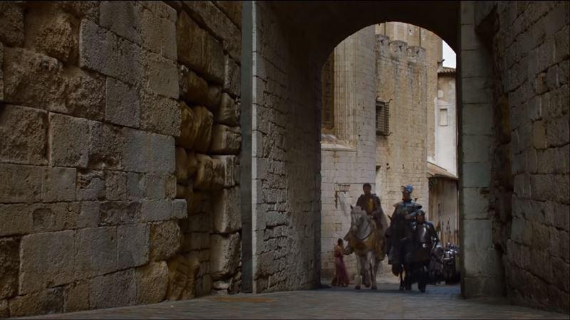 Desembarco del rey en Girona