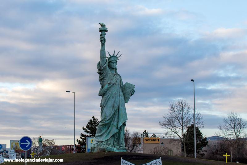 Estatua de la Libertad en Colmar