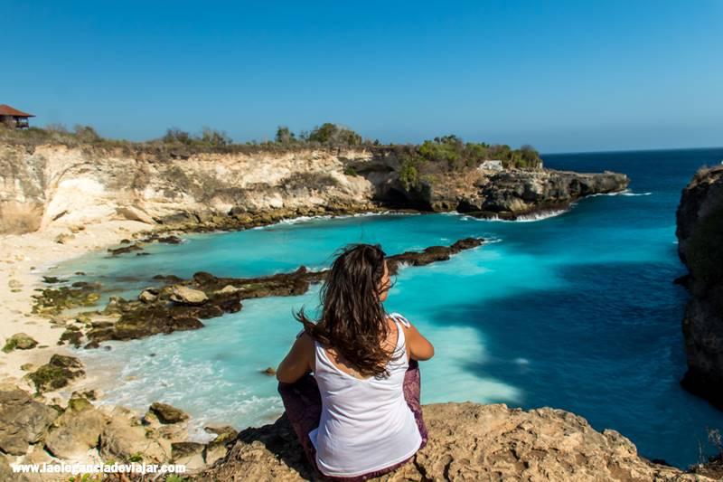 Blue Lagoon en Nusa Cenigang
