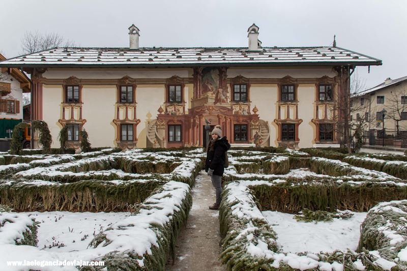 Casa de Pontius Pilate en Oberammergau