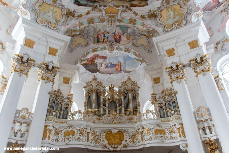 Interiores de la Wieskirche
