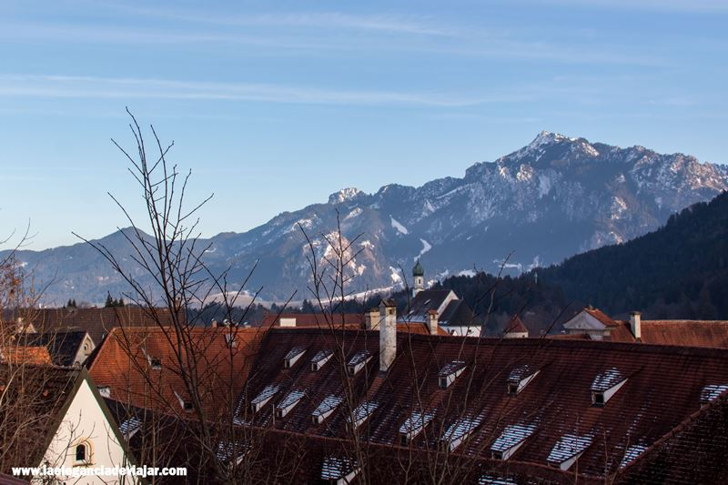 Vistas desde Füssen