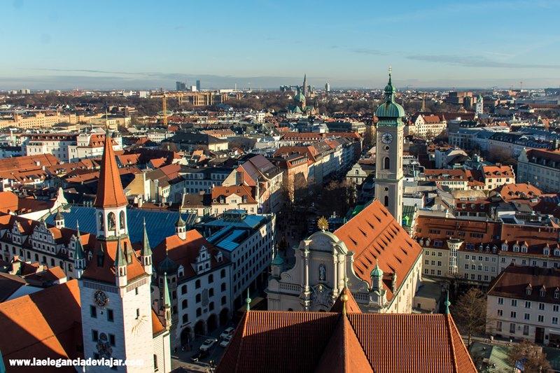Múnich desde las alturas